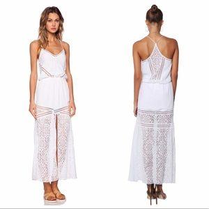 ⚡️FLASH SALE⚡️SAYLOR Lesley Maxi dress white lace